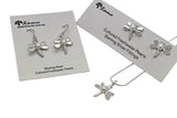 Dragonfly Pearl Studs or Earrings