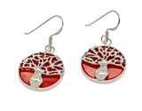 Reversible Boab Tree Mother of Pearl Earrings