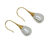 Baroque Shell Pearl Earrings