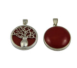 Reversible Boab Tree Pendant - Small