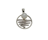 Staircase to the Moon Pendant Round