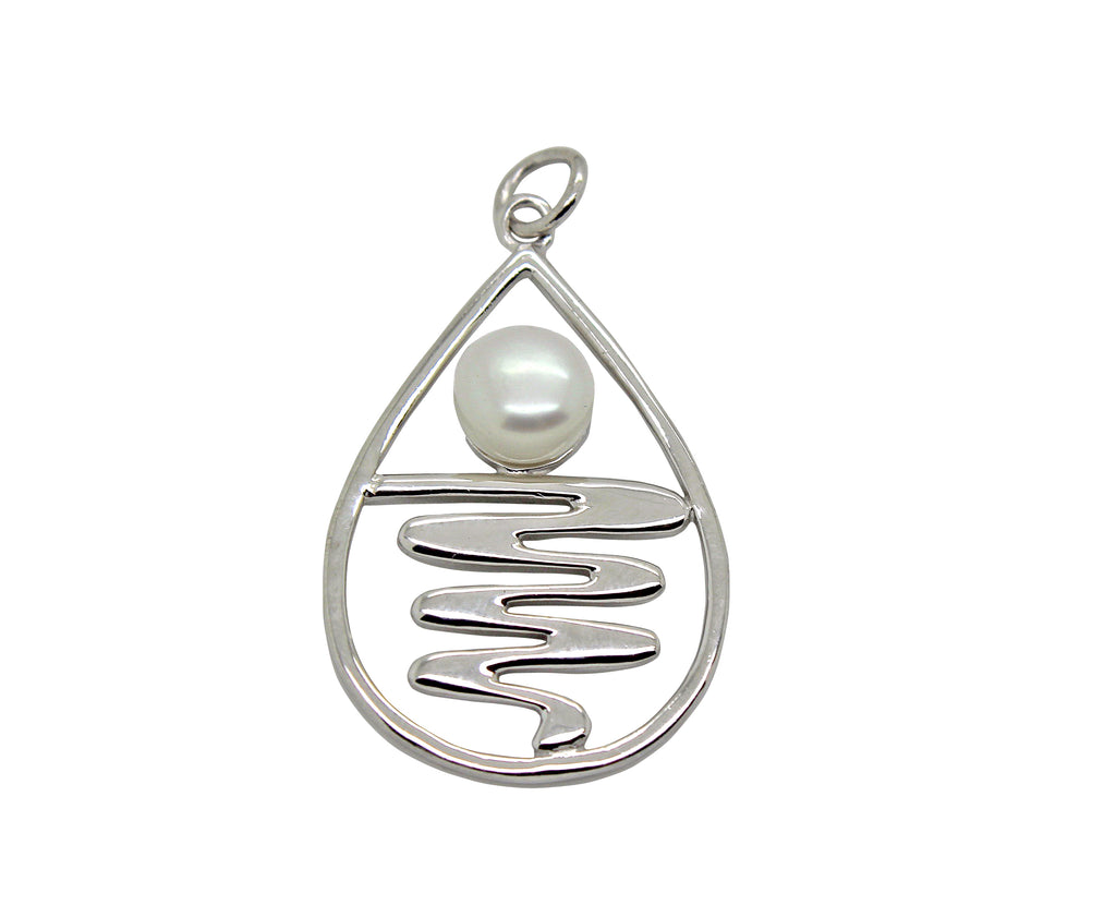 Staircase to the Moon Pendant TearDrop