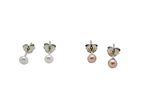 Freshwater Pearl Studs 4m