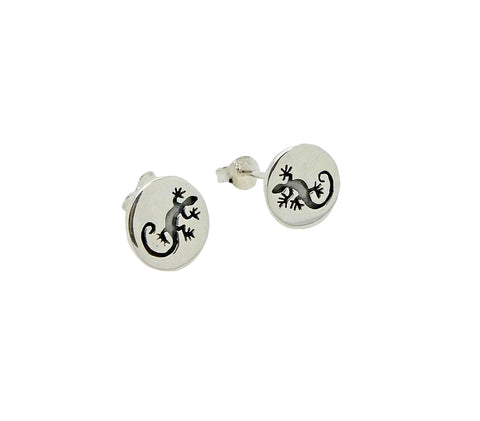 Gecko Studs Etched