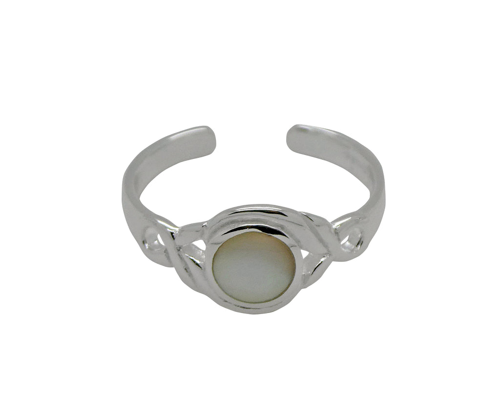 Toe Ring Natural Stone