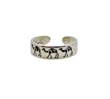 Toe Ring - Sterling Silver Camel