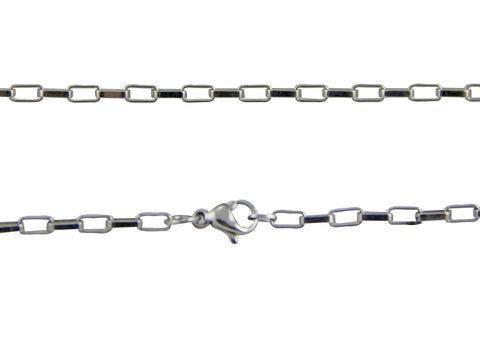 Stainless Steel Box Chain Long