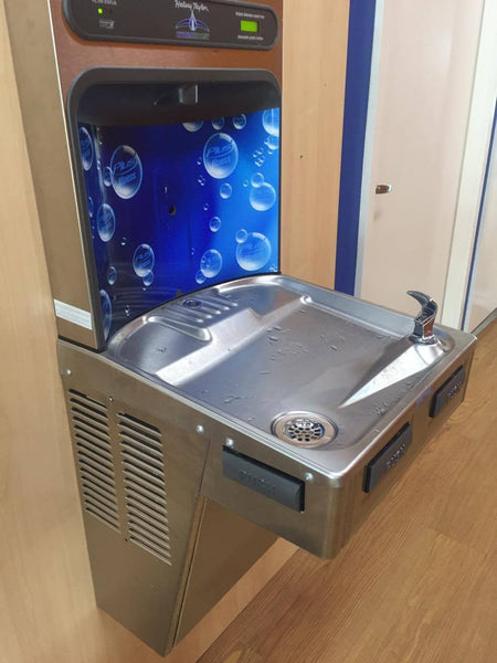 Halsey Taylor Bottle Filling Station Perfect for Health Clubs and other sports recreational facilities