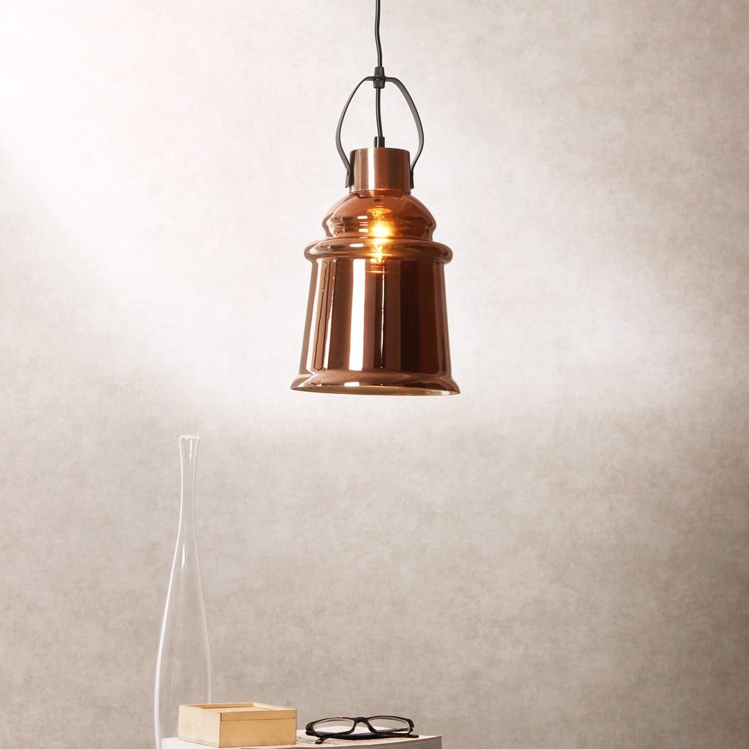 Aldrick Copper Pendant Lamp - Home Artisan
