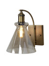 Sloan Amber Flare Wall Light - Home Artisan