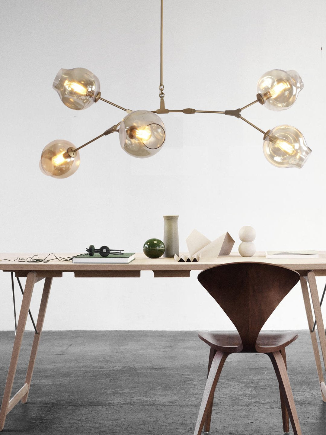 Carlisle Five Light Chandelier - Home Artisan