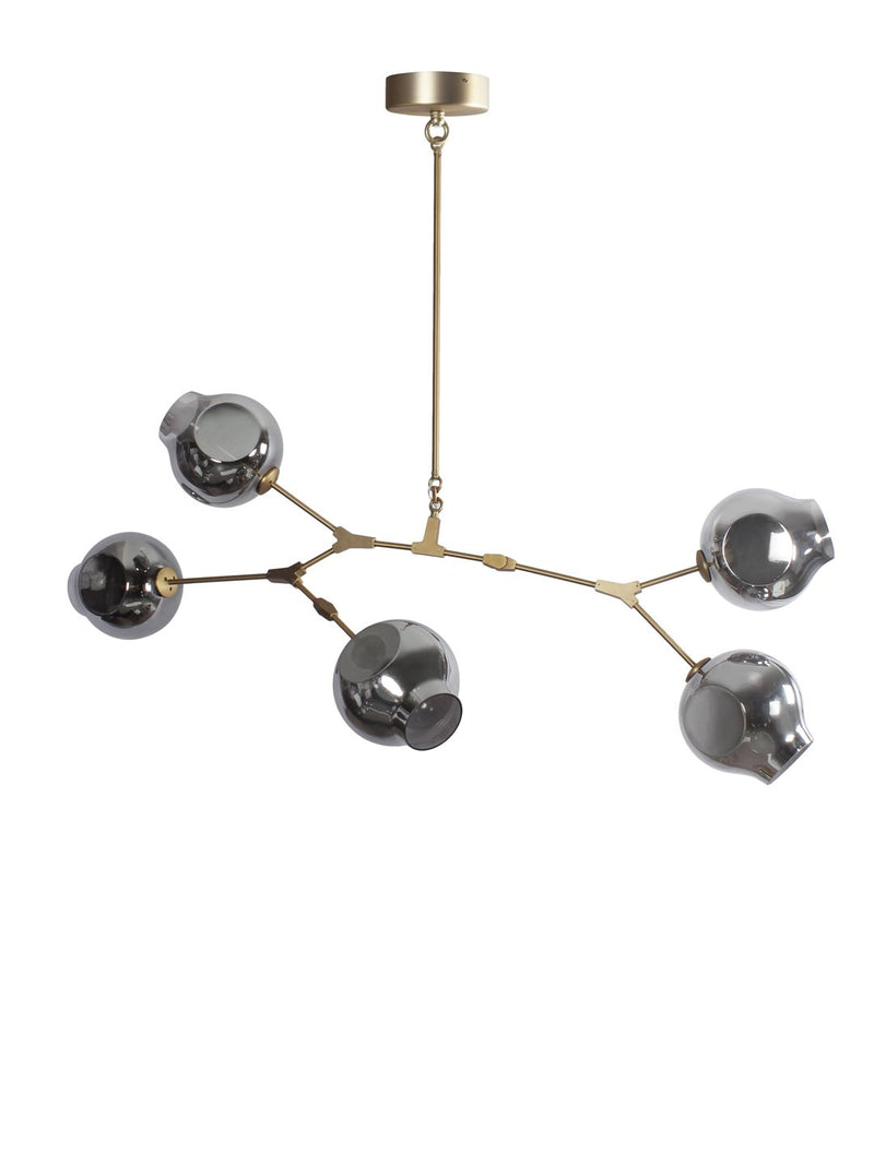 Cameron Five Light Chandelier - Home Artisan