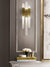 Daniel Ivory and Gold Wall Light