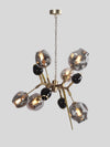 Reginald Amber Five Light Chandelier  - Home Artisan