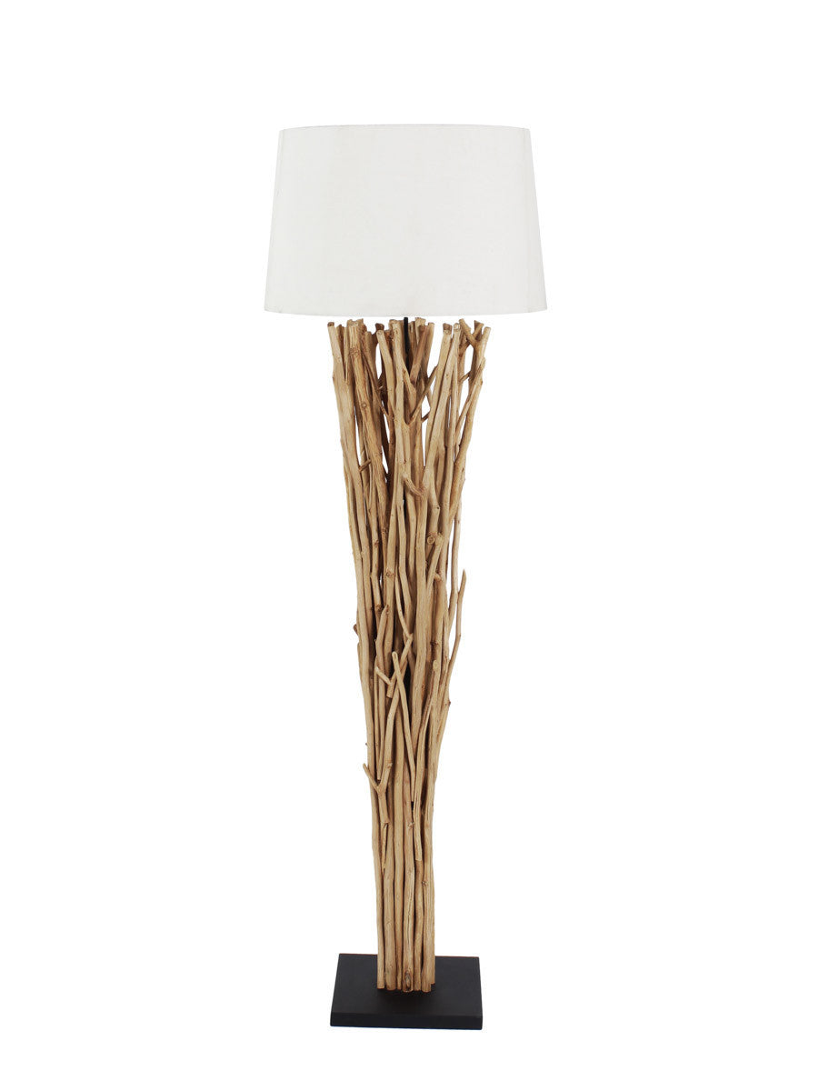 wood drift floor ikea hackers lamppost lamp driftwood