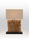Camille Driftwood Table Lamp - Home Artisan