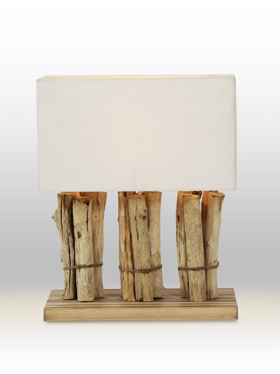 Sallsbury Driftwood Table Lamp - Home Artisan