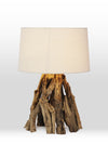 Minerva Bonfire Driftwood Table Lamp - Home Artisan