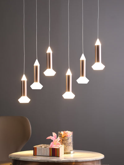 Thea 6-Lamp Chandelier - Home Artisan