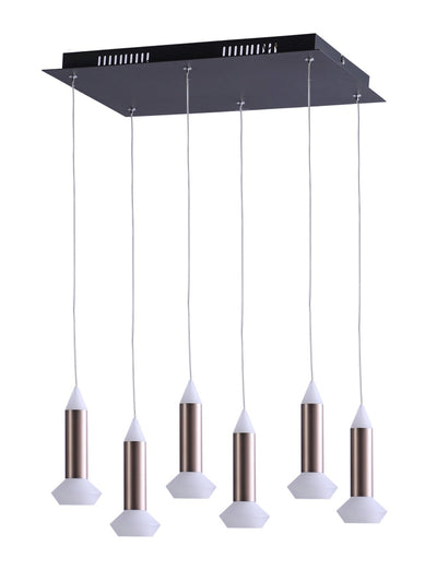 Thea 6-Lamp Chandelier