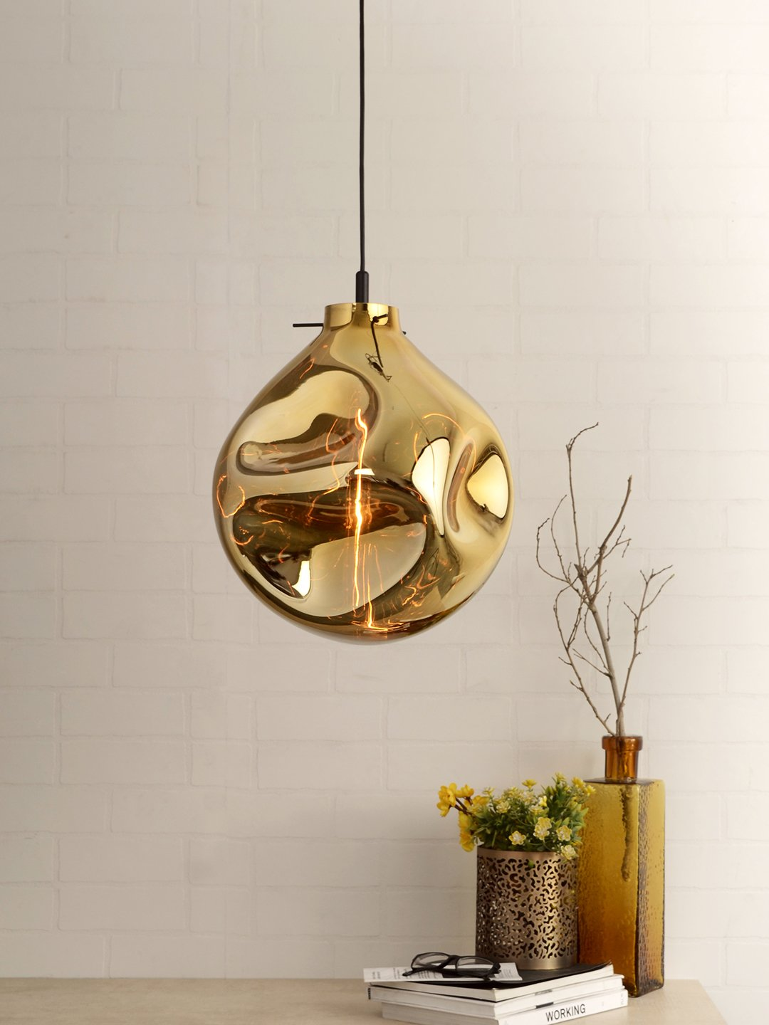 Conrad Bubble Pendant Lamp - Gold - Home Artisan