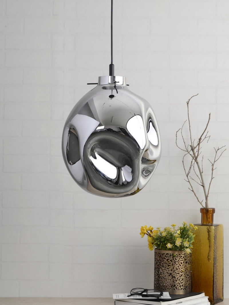 Conrad Bubble Pendant Lamp - Silver - Home Artisan