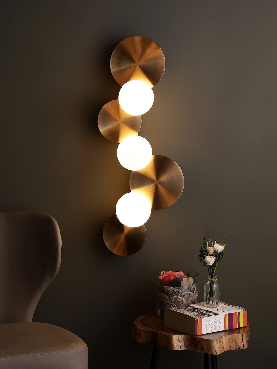 Cohn Trois Light Wall Lamp