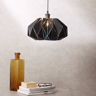 Curtis Black Origami Pendant Lamp - Home Artisan