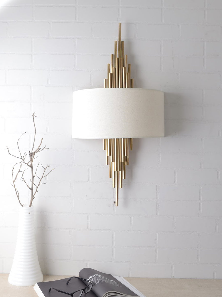 Marcellus Wall Sconce - White