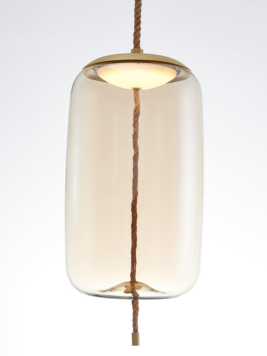 Smith Clear Glass Pendant Lamp