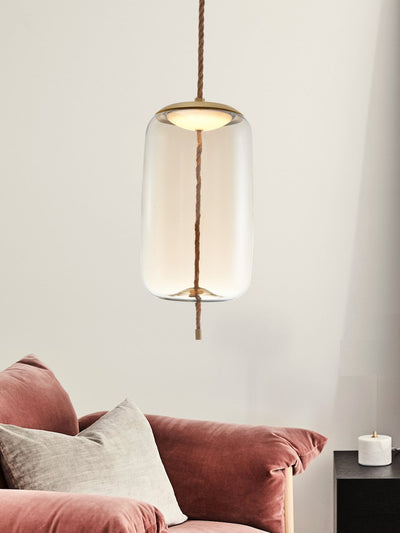 Smith Clear Glass Pendant Lamp - Home Artisan