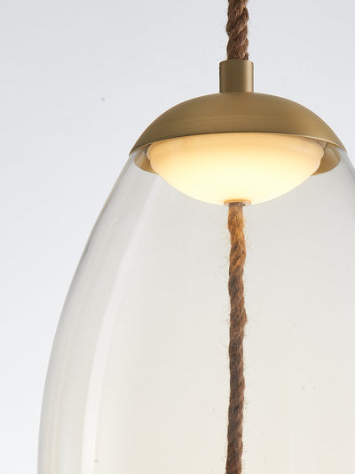 Kenneth Clear Glass Pendant Lamp