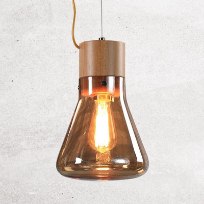 alison-conical-flask-bulb-amber-1-Home Artisan