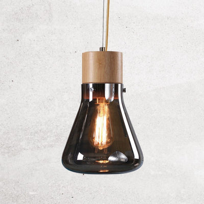 alison-conical-flask-bulb-charcoal-grey-1-Home Artisan