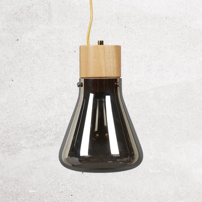 alison-conical-flask-bulb-charcoal-grey-2-Home Artisan