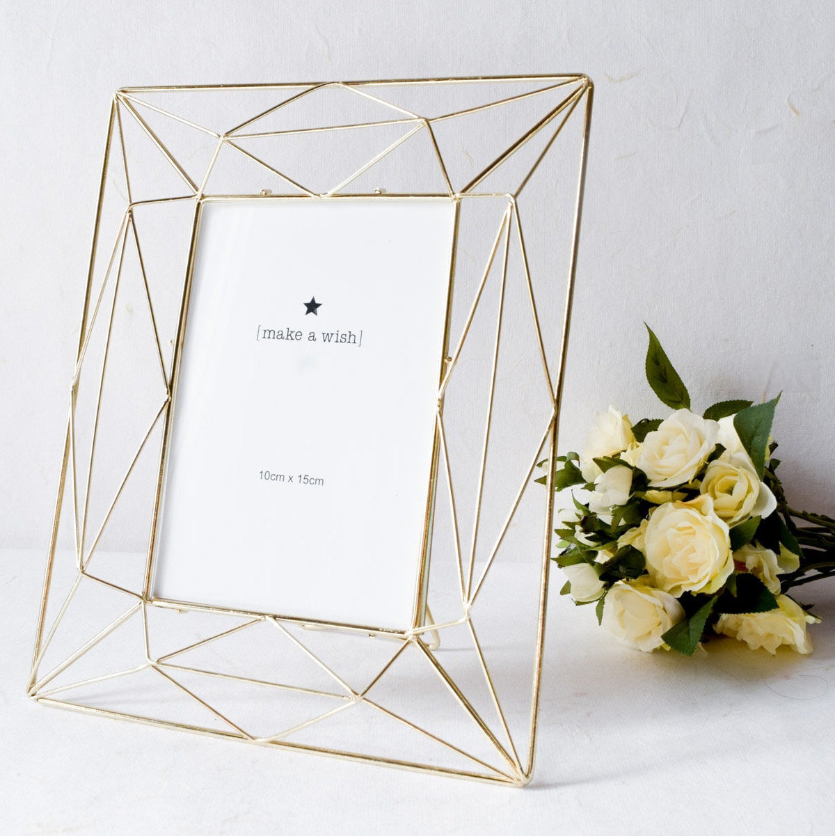 Angular Golden Photo Frame (4x6) - Home Artisan_1