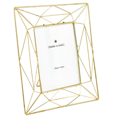 Angular Golden Photo Frame (4x6) - Home Artisan_3