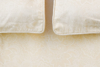 beige-paisley-pattern-bed-sheet-1-Home Artisan