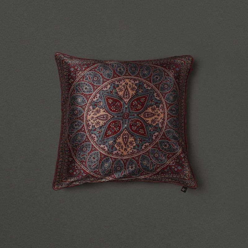 Blue Saadh Cushion With Filler by Ritu Kumar Home - Home Artisan