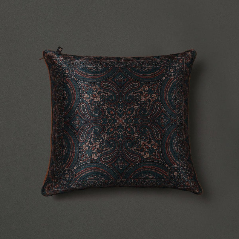 Copper Saadh Cushion With Filler by Ritu Kumar Home - Home Artisan