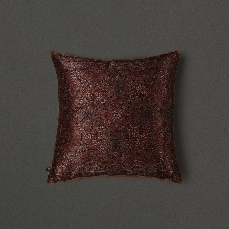 Emerald Saadh Cushion With Filler by Ritu Kumar Home - Home Artisan