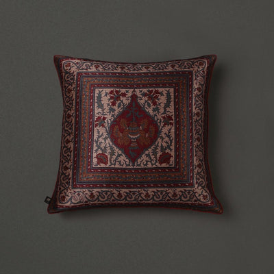 Red Saadh Cushion With Filler by Ritu Kumar Home