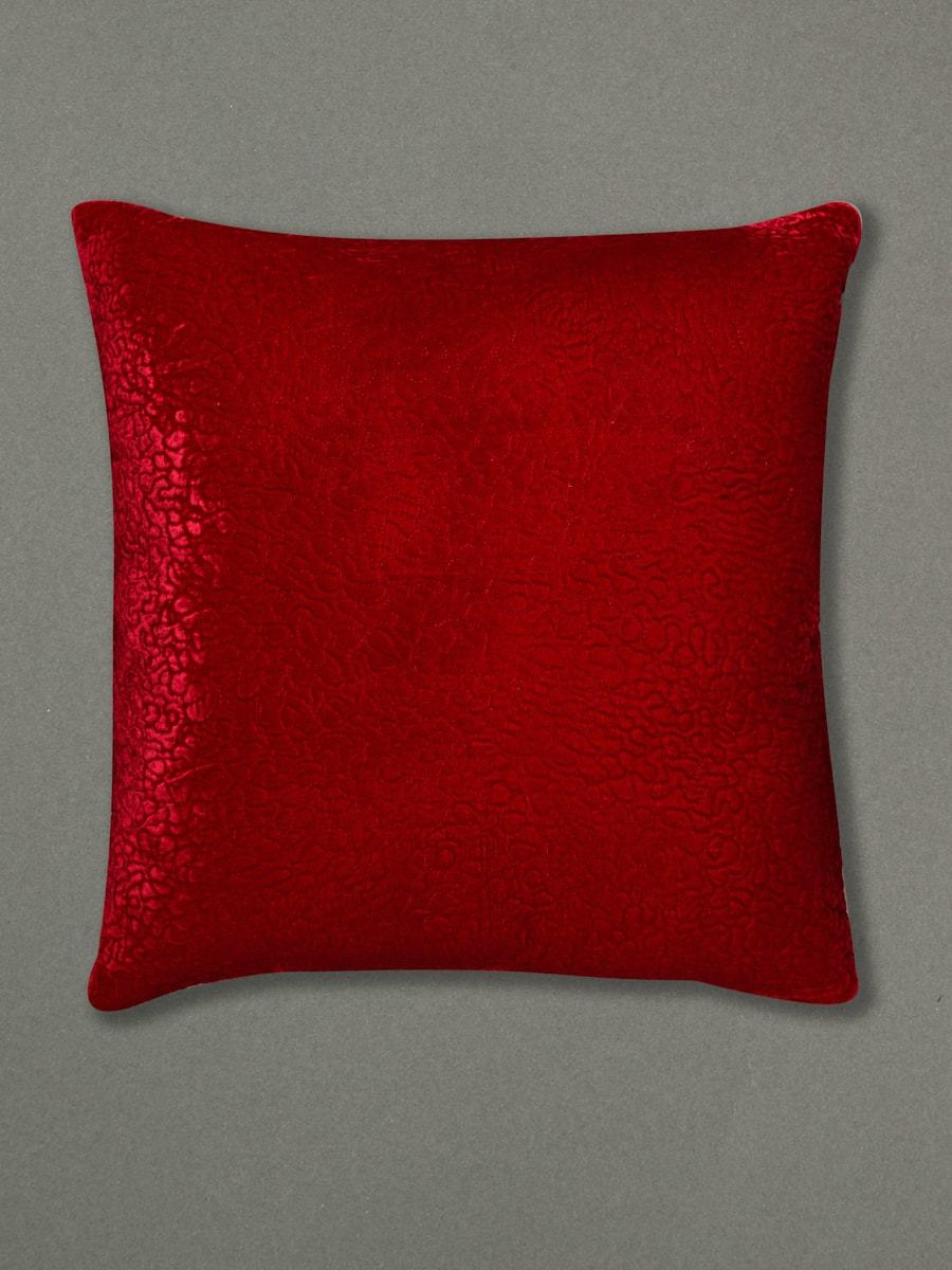 Rust Chameli Cushion With Filler by Ritu Kumar Home - Home Artisan