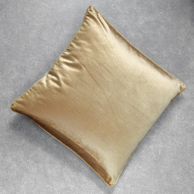 Ara Gold Embroidered Cushion Cover by Valaya Home for Tapestry