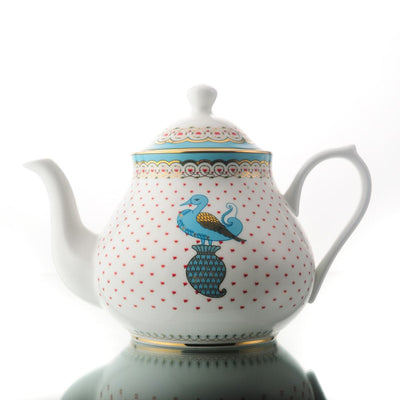 Dasara Tea Pot, Creamer & Sugar Pot by Kaunteya
