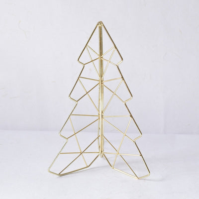 Decorative Golden Christmas Tree (Small) - Home Artisan_1