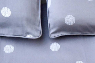 eleanor-grey-with-white-polka-dot-bed-sheet-3-Home Artisan