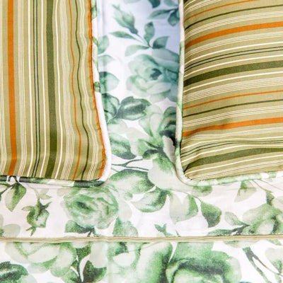 green-rose-floral-print-bed-sheet-3-Home Artisan