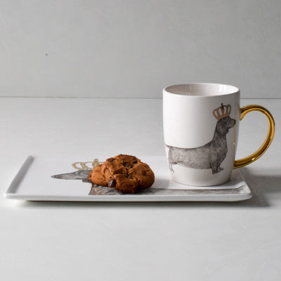 Blakely Crowned Dachshund Coffee Mug - Home Artisan_2