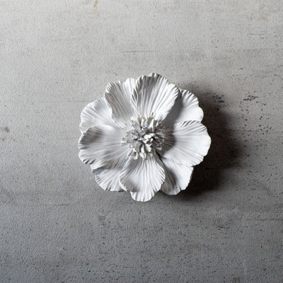 Peony Ceramic Flowers Wall Sculptures - Home Artisan_2